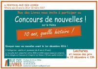CONCOURS DE NOUVELLES