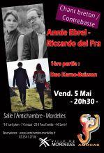 ANNIE EBREL & RICCARDO DEL FRA