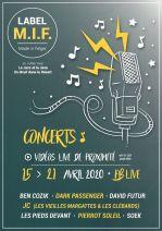 LABEL MIF - Musique live